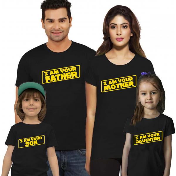 "Set tricouri familie ""Vader family III"""
