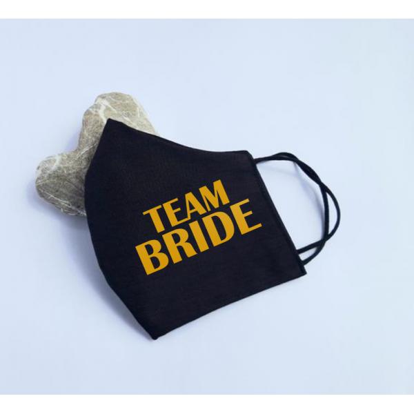 "Masca personalizata ""Team bride"""