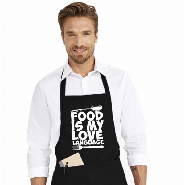Sort de bucatarie personalizat - Food is my love language