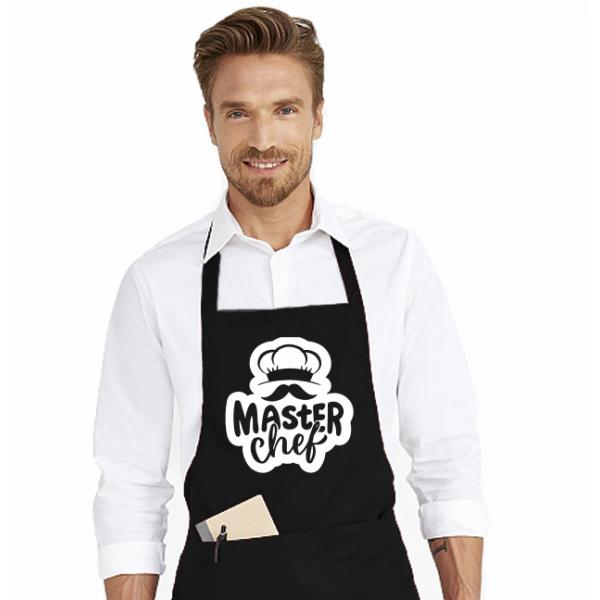 Sort de bucatarie personalizat - Mustache Master Chef