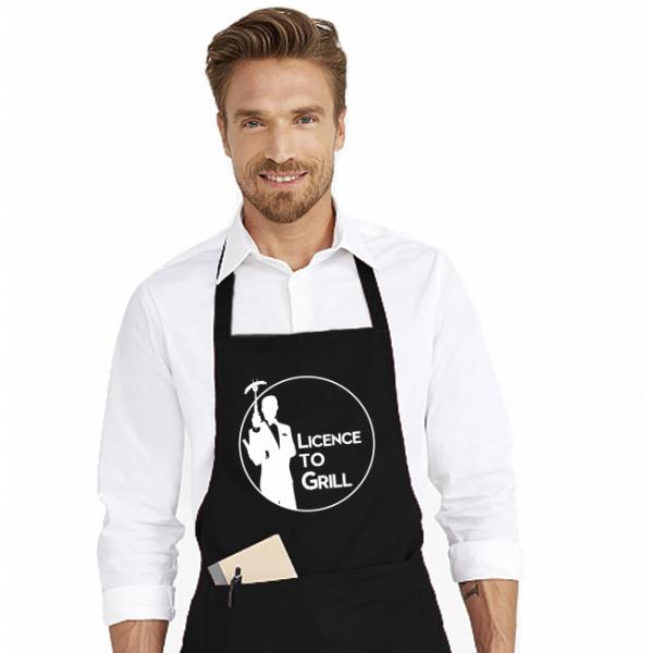 Sort de bucatarie personalizat - License to grill