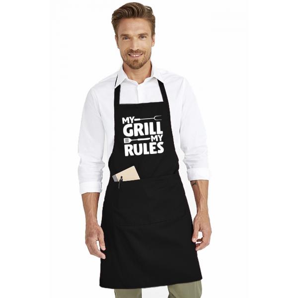 Sort de bucatarie personalizat - My grill my rules