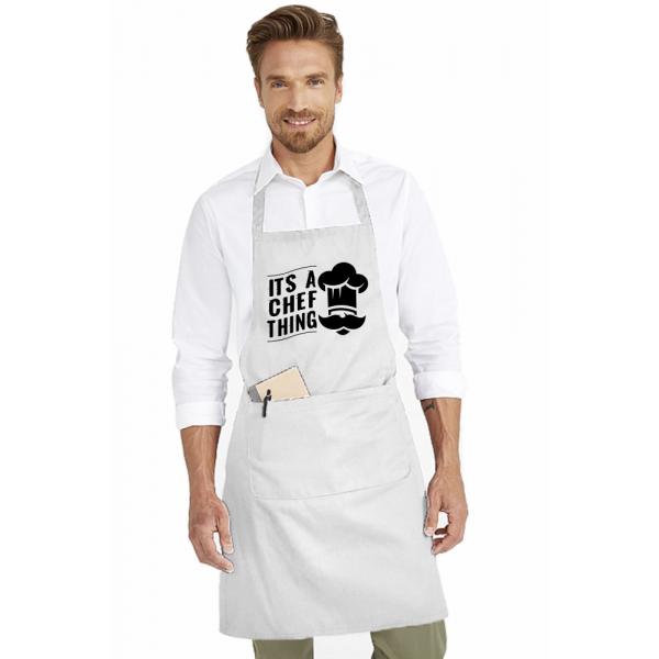 Sort de bucatarie personalizat - It's a chef thing