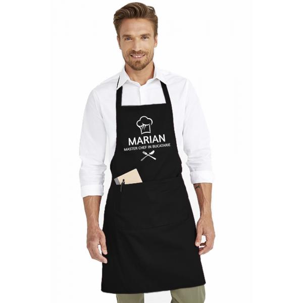 Sort de bucatarie personalizat cu numele tau - Master Chef in bucatarie