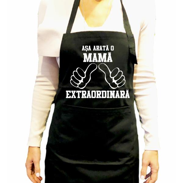 Sort de bucatarie personalizat - Asa arata o mama extraordinara