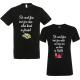 Set 2 tricouri pentru nasi